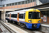 378149 calls at Surrey Quays forming a Dalston Junction to Crystal Palace service on 31st July 2010.
