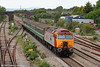 57305 'John Tracy' passes Magor at the rear of 2U14, 1102 Taunton to Cardiff Central on 31st May 2010.