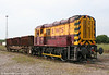 08737 shunting at Margam Knuckle Yard on 19th June 2010.