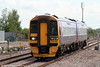 Recently reformed 158749 approaches Severn Tunnel Junction forming the 0858 Taunton to Cardiff Central on 1st May 2010.