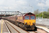 66121 at Severn Tunnel Junction with 4C55, 0615 Aberthaw Power Station to Avonmouth on 1st May 2010.