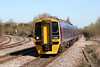 158769 approaches Yate while working the 1042 Gloucester to Weymouth on 8th April 2010.