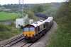 66165 passes Llangewydd with 6V19, 1722 (Friday) Immingham Sorting Sidings to Margam on 8th May 2010.