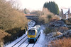 175002 descends Cockett Bank while working the 0730 Manchester Piccadilly to Carmarthen on 2nd January 2010.