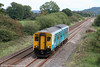 150283 passes Nantyrhebog with the 1055 Cardiff Central to Fishguard Harbour on 18th September 2010.
