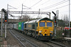 66543 heads through Watford Junction with 4L90, 0907 Birmingham Lawley Street to Felixstowe on 20th March 2010.