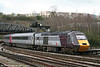 XC 43285 heads the 1523 Plymouth to York into Bristol Temple Meads on 5th April 2010.