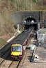 170108 exits Newport 'New' Tunnel (770 yds, built 1910-11) forming the 0808 Nottingham to Cardiff Central on 6th February 2010.