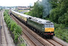 47773/D1755 heads 5Z54, 1405 Swansea to Landore TMD ECS on 19th June 2010.