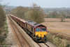 66037 passes Llanover with 6Z35, Moreton on Lugg to Acton Yard stone on 10th April 2010.