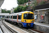 East London Line 378138 calls at Surrey Quays forming the 1536 New Cross to Dalston Junction on 31st July 2010.