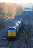 47832 'Solway Princess' brings up the rear of 2Q88, 0453 Swansea to Whitland via freight branches test train on 14th December 2010.
