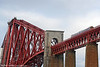 Another northbound FSR class 158 runs onto the Forth Bridge on 19th October 2010.