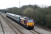 67017 'Arrow' heads through Llandevenny with 2U20, 1247 Paignton to Cardiff Central on 2nd April 2010.
