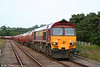 59202 'Vale of White Horse' at Llangennech with 6B13, 0505 Robeston to Westerleigh on 6th July 2010.