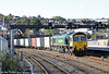 66517 passes Newport with 4O51, 0958 Wentloog to Southampton on 18th October 2011.