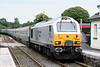 67029 'Royal Diamond' draws into Llandovery with Rail Blue Charters 1Z34, 1432 Llandrindod Wells to Lincoln the return 'Welsh Victorian Explorer' on 20th August 2011.