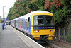 165130 waits at Marlow, ready to form the 1406 service back to Maidenhead on 12th November 2011.