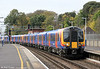 450079 at Southampton Central forming the 1050 Poole to London Waterloo on 9th November 2011.