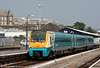 175109 departs from Carmarthen forming the 0830 Manchester Piccadilly to Milford Haven on 30th April 2011.