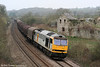 60013 'Robert Boyle' at Llangewydd with 6H23, Margam to Llanwern on 2nd April 2011.