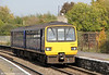143611 calls at Lawrence Hill forming the 1315 Avonmouth to Bristol Temple Meads on 24th October 2011.