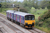 FGW 150128 passes Coedkernew forming the 1400 Cardiff Central to Taunton on 3rd September 2011.