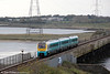 175101 crosses Loughor Viaduct forming the 1508 Milford Haven to Manchester Piccadilly on 22nd October 2011.