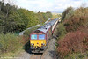 66091 leads through Seven Sisters with UK Railtours 1Z66, 1342 Onllwyn to London Paddington via Cwmgwrach and Llanelli, 'The Valley of the Witch' on 22nd October 2011.