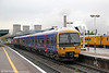 165103 departs from Didcot Parkway with the 1107 Oxford to London Paddington on 27th October 2011.