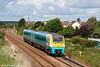 Class pioneer 175001 passes Ashburnham forming the 0908 Milford Haven to Manchester Piccadilly on 29th June 2011.
