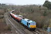 Back in south Wales once again, 60074 'Teenage Spirit' is seen at Miskin with 6B13, 0505 Robeston to Westerleigh on 5th February 2011.
