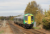 172342 approaches Stourbridge Junction forming the 1246 Dorridge to Worcester Foregate Street on 29th October 2011.