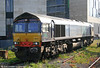 DRS 66431 stabled at Cardiff Central on 23rd April 2011.