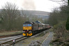 WCRC 47760 pulls away from Pantyffynnon South Signal Box with private charter 1Z67, 1606 Haverfordwest to Carnforth on 19th March 2011.