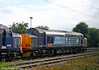 DRS 37229 'Jonty Jarvis' is seen stabled at Crewe, Gresty Bridge depot on 3rd August 2011.