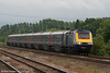 Another downpour threatens as 43053 'University of Worcester' approaches Didcot Parkway with the 1830 London Paddington to Weston-super-Mare on 15th June 2011.