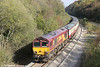 66091 leads through Jersey Marine towards Swansea Burrows yard with UK Railtours 1Z65, 0806 London Paddington to Onllwyn, 'The Valley of the Witch' (a translation of Cwmgwrach) on 22nd October 2011.