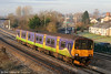 Now let loose on the main line after a decade on London Overground's 'Goblin' route, 150120 passes Undy forming the 0900 Cardiff Central to Taunton on 22nd January 2011.