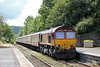 66006 arrives at Llandeilo with UK Railtours 1Z39, 0735 London Paddington to Llandrindod Wells on 27th August 2011.