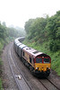 66069 passes Alltygraban with 6Z12, 0750 Dollands Moor to Trostre on 21st May 2011.