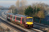 XC 170113 catches the morning sunshine at Undy, forming the 0845 Cardiff Central to Nottingham on 22nd January 2011.