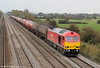 60007 'The Spirit of Tom Kendell' passes Coedkernew with 6B33, 1212 Theale to Margam on 15th October 2011.