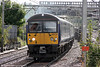 360118 approaches Ilford forming 1Y28, 1702 London Liverpool Street to Ipswich on 25th August 2012.