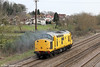 NR 97301 heads away from Magor running as 0Z13, 0630 Derby RTC to Exeter Riverside Yard on 21st March 2012.
