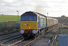 A welcome feature of the charter scene in recent years has been a series of class 47-hauled 'Cruise Saver Expresses' linking Scotland with Southampton. A change to booking procedures now means that these trains have ceased. On 15th December 2012, DRS 47810 'Peter Bath MBE' leads the very last 'Cruise Saver Express' - 1Z92, 1033 Southampton Western Docks to Edinburgh Waverley - through Cholsey. Classmate 47501 'Craftsman' was out of sight at the rear of the train.