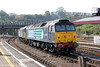 47802 'Pride of Cumbria' and 47810 'Peter Bath MBE' bringing up the rear of 5Z73, 1004 Cardiff Pengam to Bristol West 'The Africa Express' ECS at Bristol TM on 8th September 2012.
