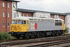 A study of BARS/DCR 56311 stabled outside Cardiff Central on 5th May 2012. The loco had worked in with 1205 Stockton to Cardiff Tidal the previous evening.