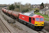60063 passes Undy with 6B13, 0505 Robeston to Westerleigh on 20th March 2012.