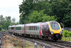 XC 220024 approaches Southampton Central ready to form 1E36, 0946 to Newcastle on 12th June 2012.